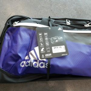 ADIDAS TEAM DUFFEL BAG MEDIUM PURPLE